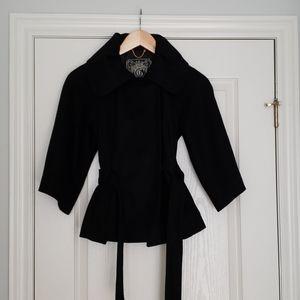 GUESS Black Cape/Jacket